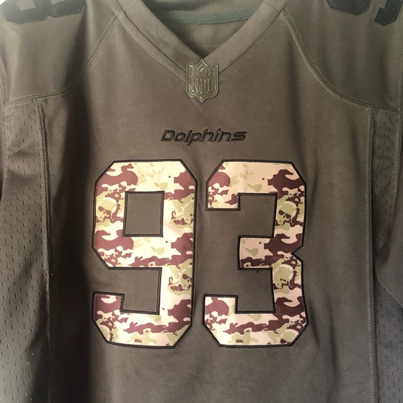 buy online 37ca7 b0096 I Miami dolphins Salute to the service jersey